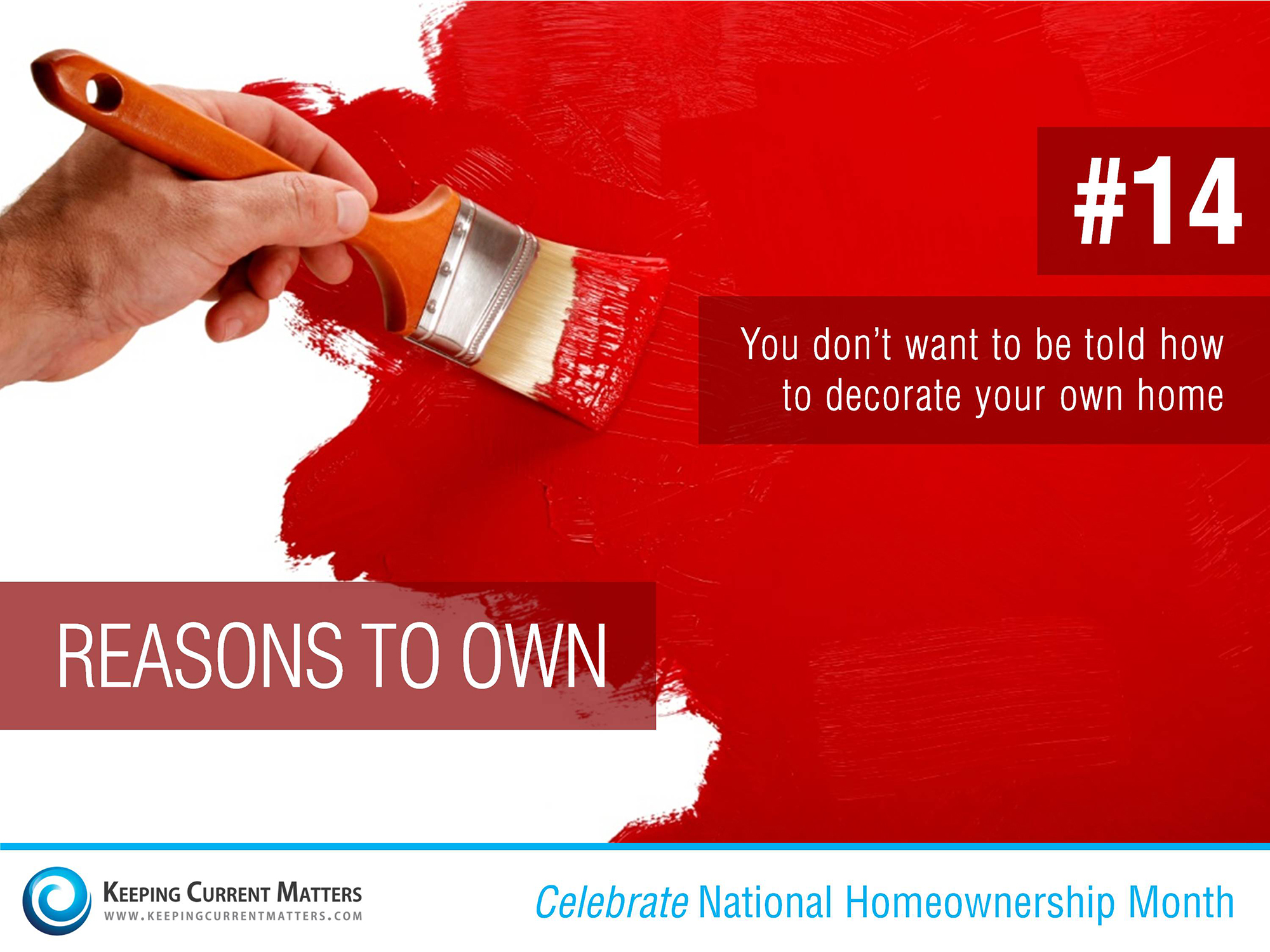 Reason #14 to Own | Keeping Current Matters